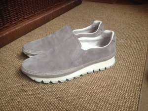 Prada Sneaker slip-on grigio Scamosciato