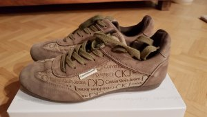 Sneaker Calvin Klein Größe 40 braun beige