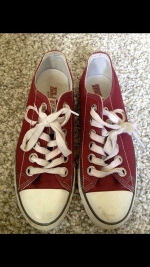 Sneaker Chucks dunkelrot 42 1/2
