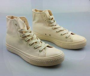 Sneaker Creme Weiß
