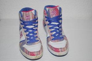 Sneaker * DC * weiß * lila * rosa * 39