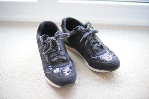 Sneaker Dolcis schwarz Pailette 40