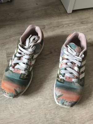 Adidas Lace-Up Sneaker pink-green grey