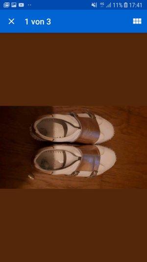 Sneaker Esparilles 37 rosé weiß