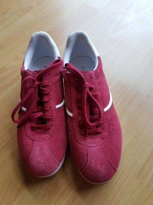 Sneaker, Esprit Sneaker im Retrolook, cherr,