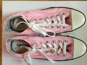 Sneaker flach rosa Converse