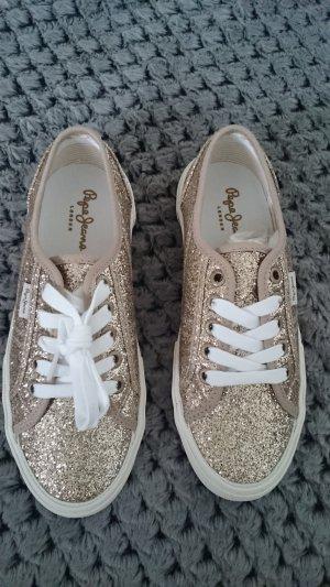 Sneaker glitzernd, neu und ungetragen