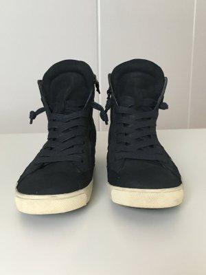 Kennel und Schmenger Slip-on Sneakers dark blue leather