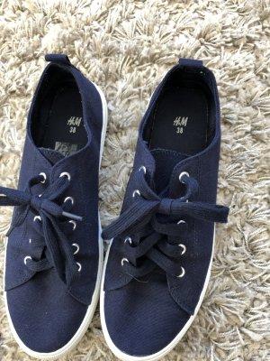 Sneaker Gr 38=39 H&M blau
