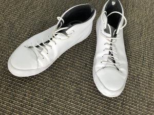 Camper Lace-Up Sneaker white