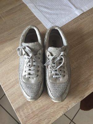 Sneaker  grau mit Pailletten