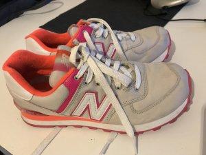 Sneaker, grau/pink, New Balance