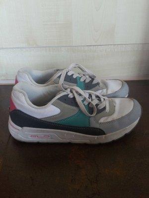 Sneaker grau weiß blau