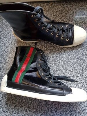 Gucci High Top Sneaker white-black