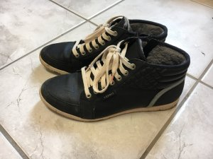 Sneaker high, Esprit, gefüttert für Winter, Lederimintat