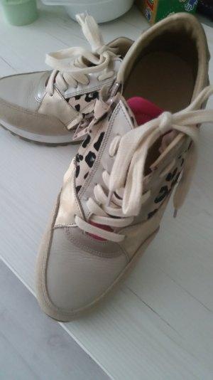 Sneaker  HIP beige leo gold