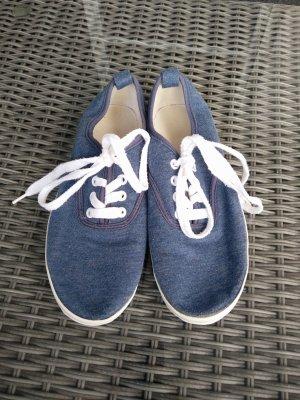 Sneaker in jeansoptik