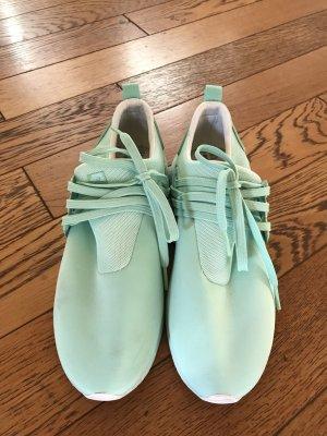 Sneaker stringata menta