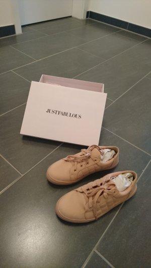 Sneaker in rosa von Just Fab !! NEU !!