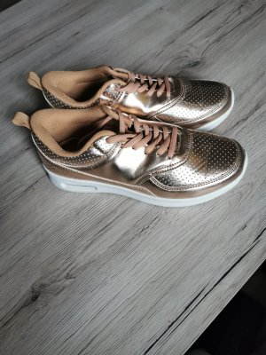 Lace-Up Sneaker rose-gold-coloured