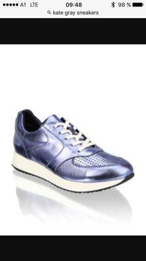 Sneaker Kate Gray Metallic Look