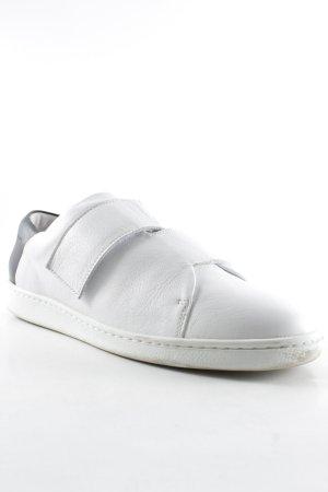 Velcro Sneakers white-black athletic style