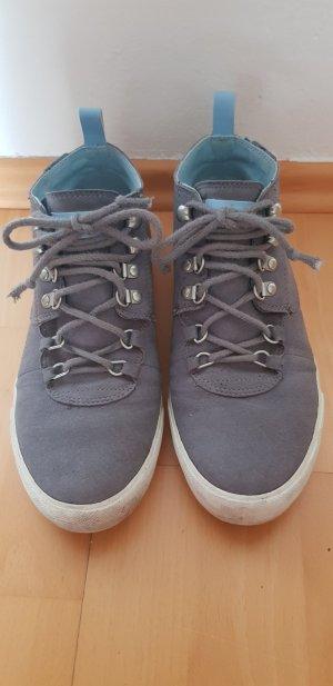 Lacoste Sneaker con strappi grigio chiaro