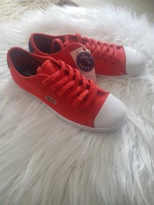 Sneaker Lacoste Rot 35,5