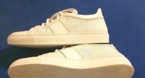 Sneaker/ Leder / Weiß/