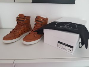 MCM Sneakers cognac-coloured