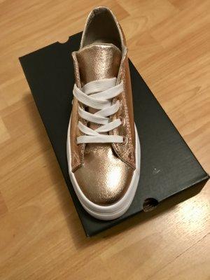 Sneaker Metallic roségold
