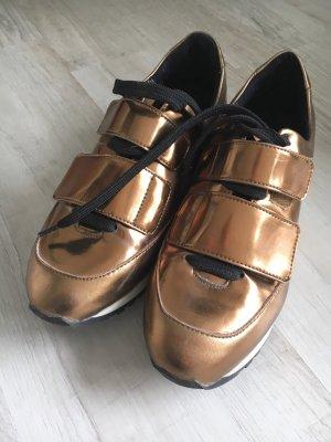 Sneaker metallic Streetstyle Blogger