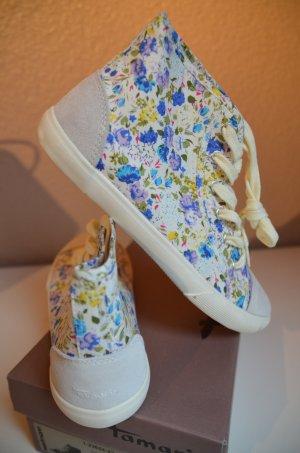 Sneaker mit Blümchenprint TAMARIS