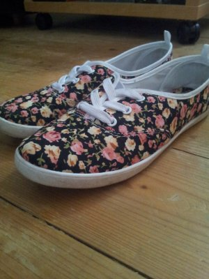 Sneaker mit Blumenmuster in gr 37