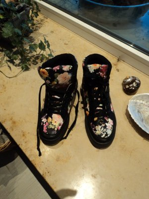 Sneaker mit floralem Muster in Gr.40 , Neu!