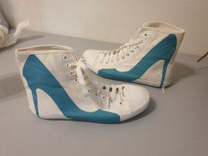Sneaker mit High Heel Gr.: 39 statt 150,-