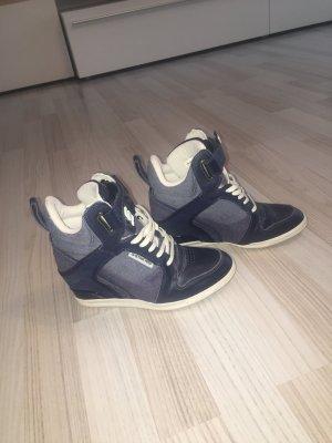 Sneaker mit Keilabsatz/G-Star/Blau