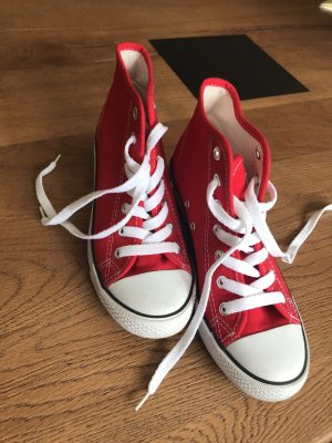 Heel Sneakers red-white