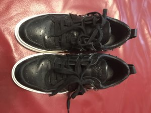ASH Lace-Up Sneaker black leather