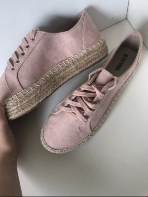 Just Fab Heel Sneakers rose-gold-coloured