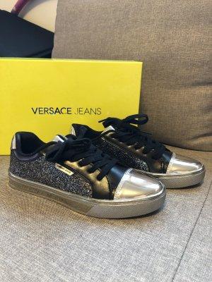 Sneaker mit silber von Versace Jeans
