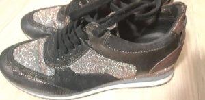 Mjus Lace-Up Sneaker black brown