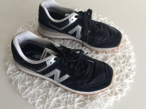 Sneaker New Balance Schwarz Silber