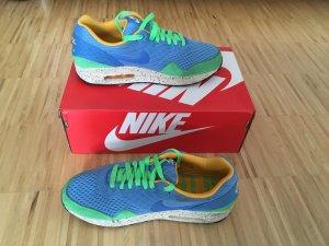 Sneaker Nike Air Max, Gr.40/41, Blau/grün, nicht mehr im Laden erhältlich