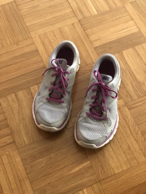 Nike Zapatilla brogue gris claro-lila