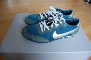Sneaker, Nike, Silber, Türkis