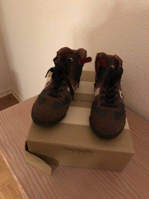 Sneaker pantofola d' Oro Brown Leder