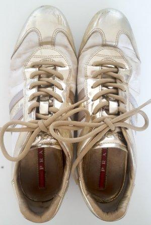 Sneaker Para Größe 38 Weiß-Gold