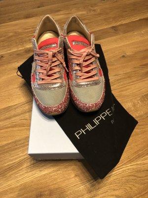 Sneaker Philippe Model - Tropez Glitter Fuxia