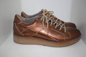 Sneaker Plateau Bronze